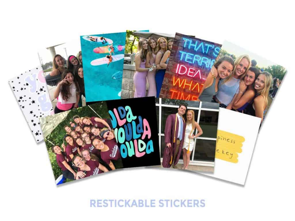 Sticker Photos That Are Reusable