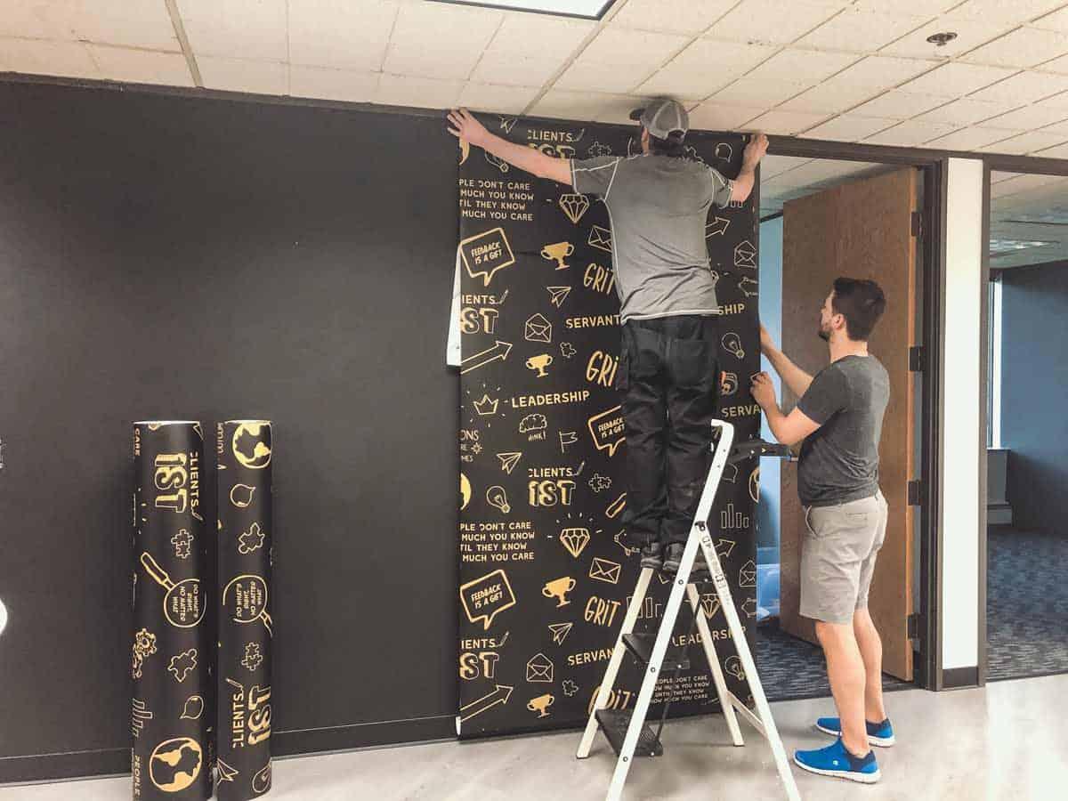 Wallpaper Panel Install