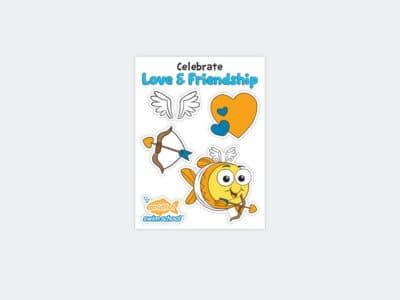 Goldfish Celebration Sheets Feb