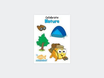 Goldfish Celebration Sheets April