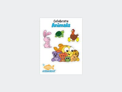 Goldfish Celebration Sheets June