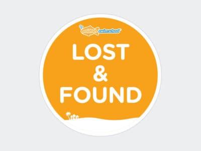 Goldfish Lost & Found Sticker