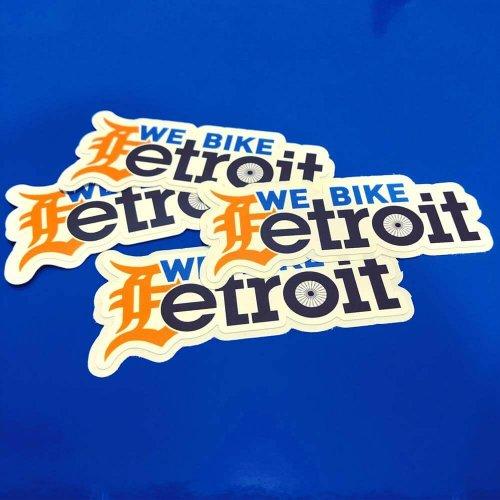 Bike Detroit Decals