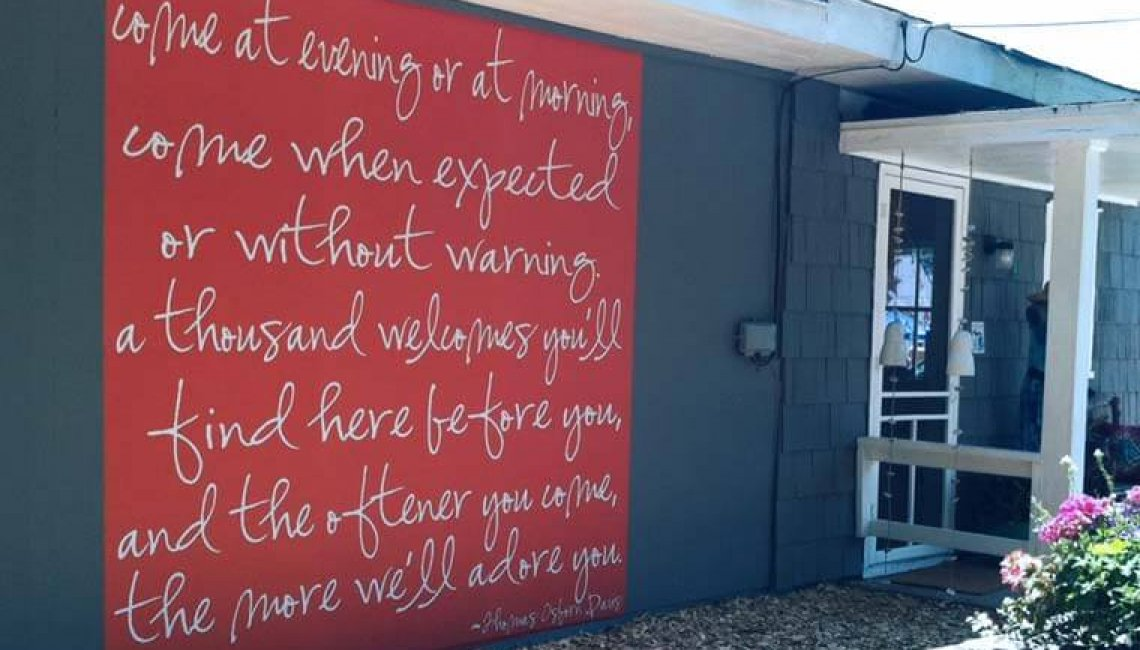 Removable Outdoor Wall Decals