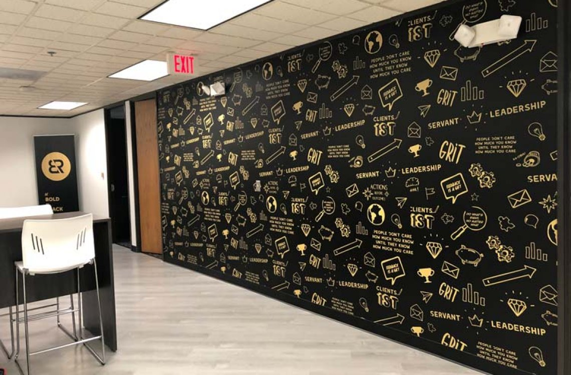 Wall Mural Completed